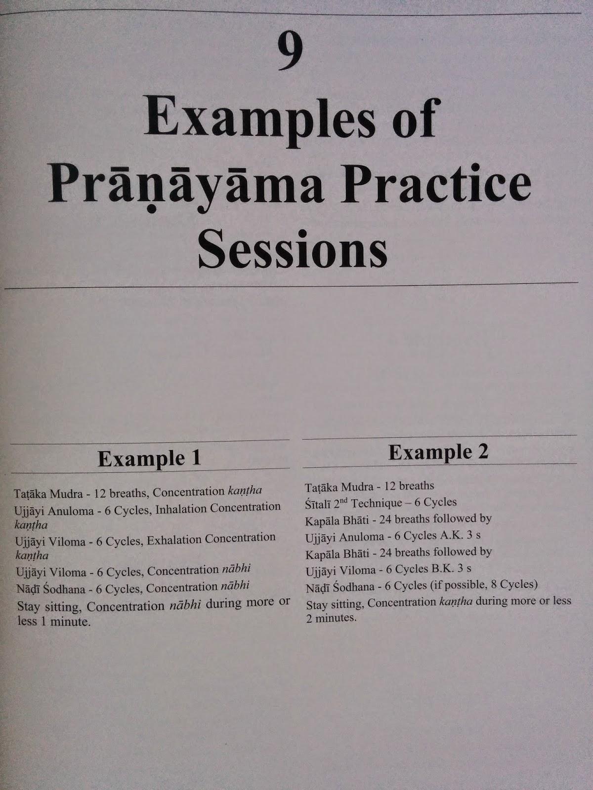 After Ashtanga Vinyasa Krama Yoga Home Pranayama