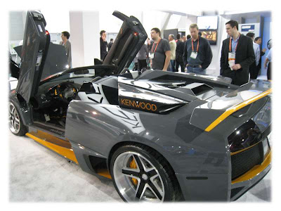 CES 2012 Kenwood Lamborghini