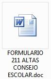 Formulario 211 Altas Patrimonio