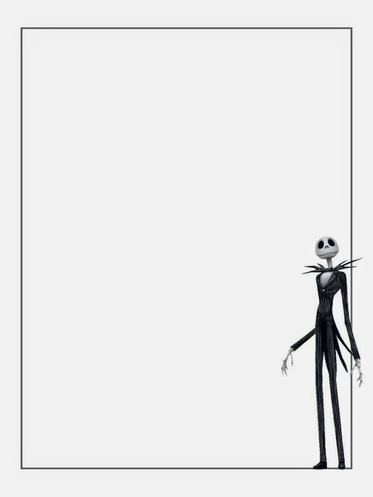 Jack Skellington Free Printable Notebook Oh My Fiesta