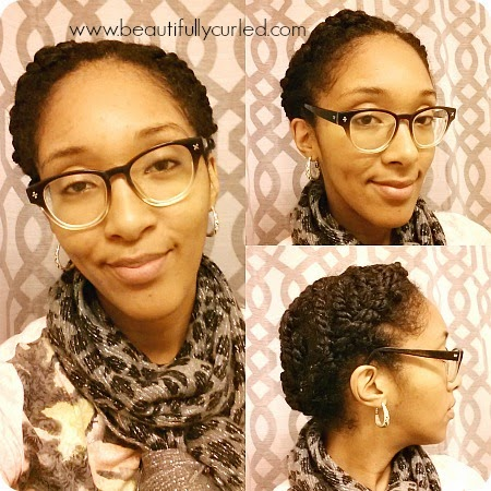 Beautifully Curled: Quick Protective Style: Tuck and Roll ...