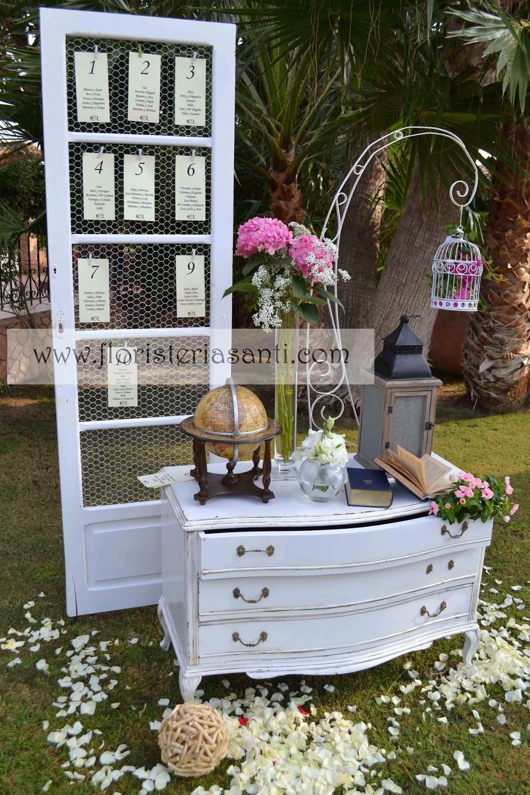 El blog de floristeria santi bodas vintage - Decoracion para bodas vintage ...