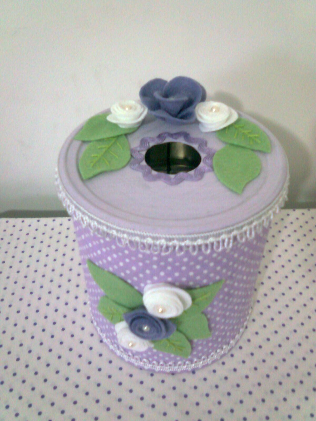 Cia da arte porta papel higi nico de mesa for Colgadores para papel higienico