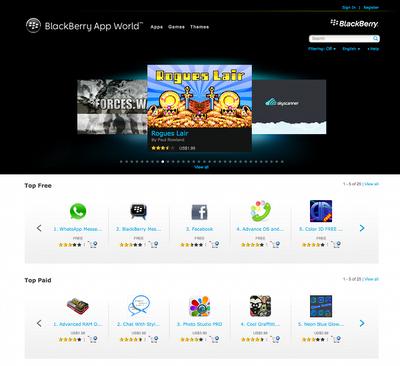 roguelike blackberry app world