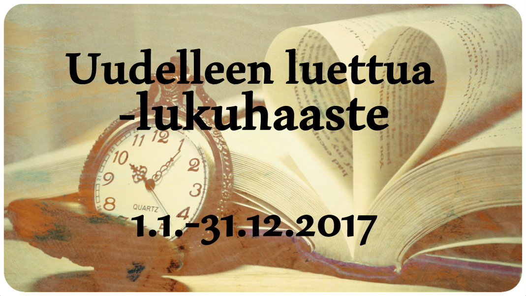 Uudelleen luettua -lukuhaaste (31.12.2017 asti)