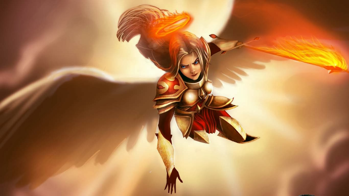 Kayle League Of Legends Wallpaper Kayle Desktop Wallpaper Cool