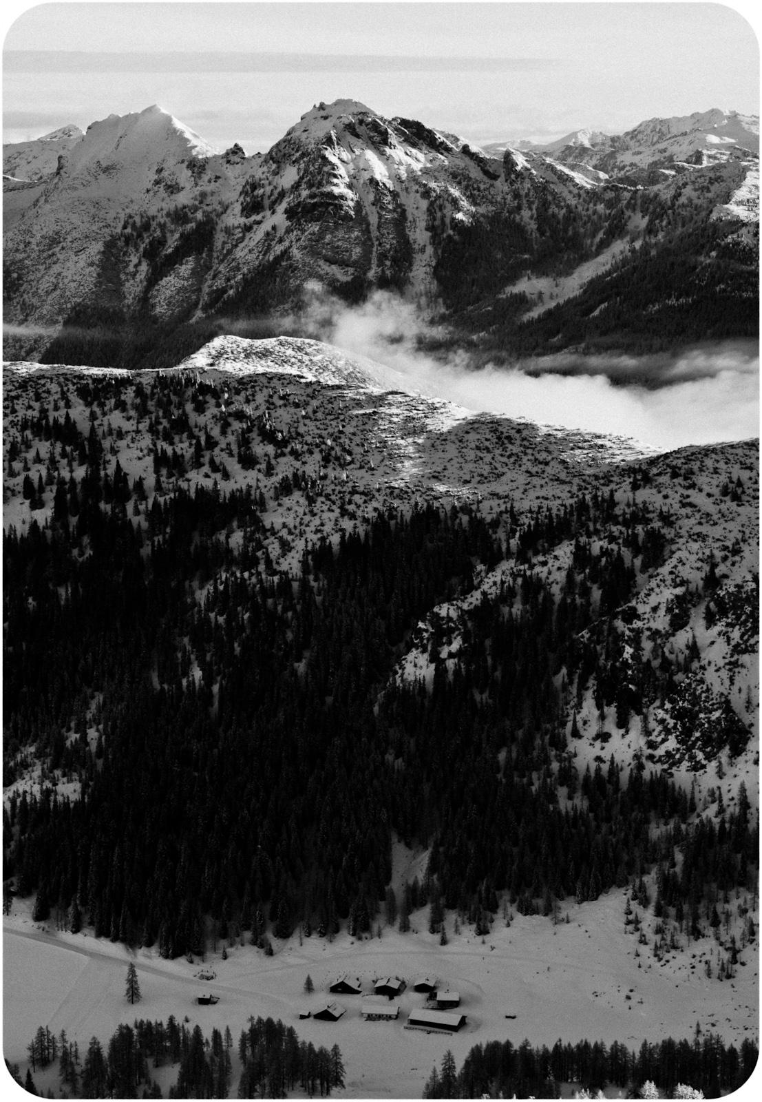 Górska fotografia krajobrazowa. Zauchensee zimą, Austria, Alpy. fot. Łukasz Cyrus