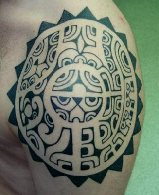 Miradadeperroviejo tatuajes for Hawaiian style tattoos