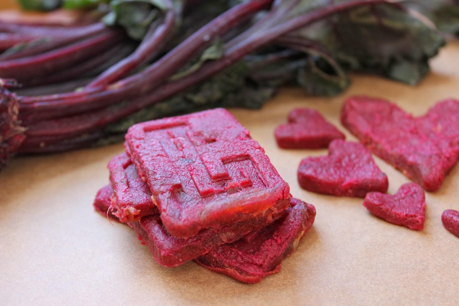 My Vegan Belly : Raw Beet Cookies