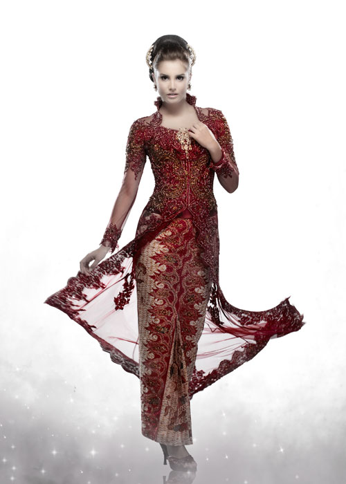 Modern Kebaya : Evolution of Indonesian Traditional Dress Style ...
