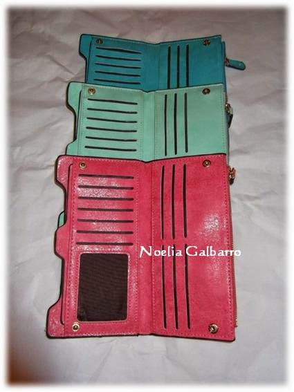 Carteras-monederos con color