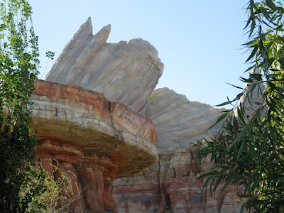 Cadillac Range Mountains in Cars Land