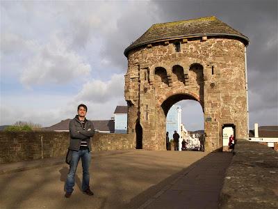 Puente medieval de Monmouth (Gales)