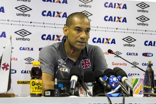 Para Rodrigo, o clássico na Copa do Brasil podem ser o início da reação do Vasco (Foto: Paulo Fernandes/Vasco)