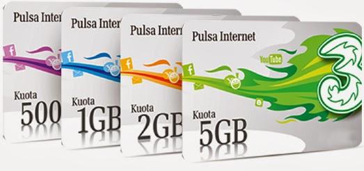 paket internet tri