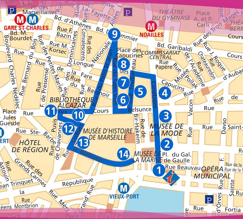 Visiter marseille visite du quartier de belsunce for Chambre de commerce marseille rue sainte victoire