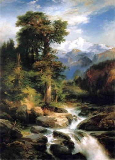 Thomas Moran Solitude+1897+Thomas+Moran