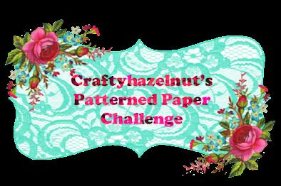 +++Craftyhazelnut's Patterned Paper September 2021 challenge