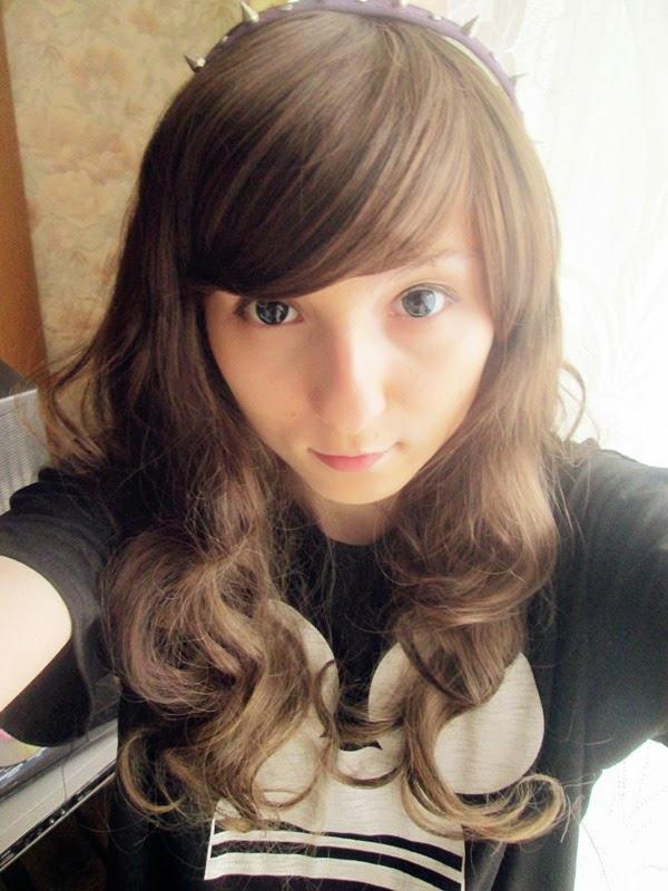 Natural Looking Lolita Wig: Lolita Wig D in Brown