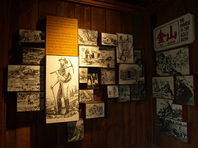 Interior del Museo del Marshall Gold Discovery State Historic Park, Coloma, USA