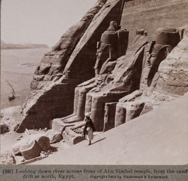 Abu Simbel antes de 1964