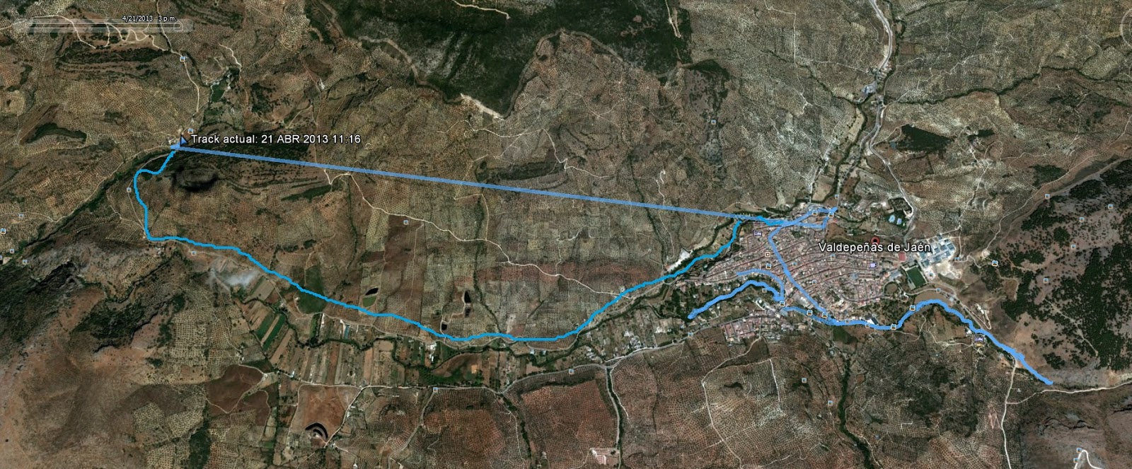 Grupo senderista palme o 130421 convivencia senderista - Plano de valdepenas ...