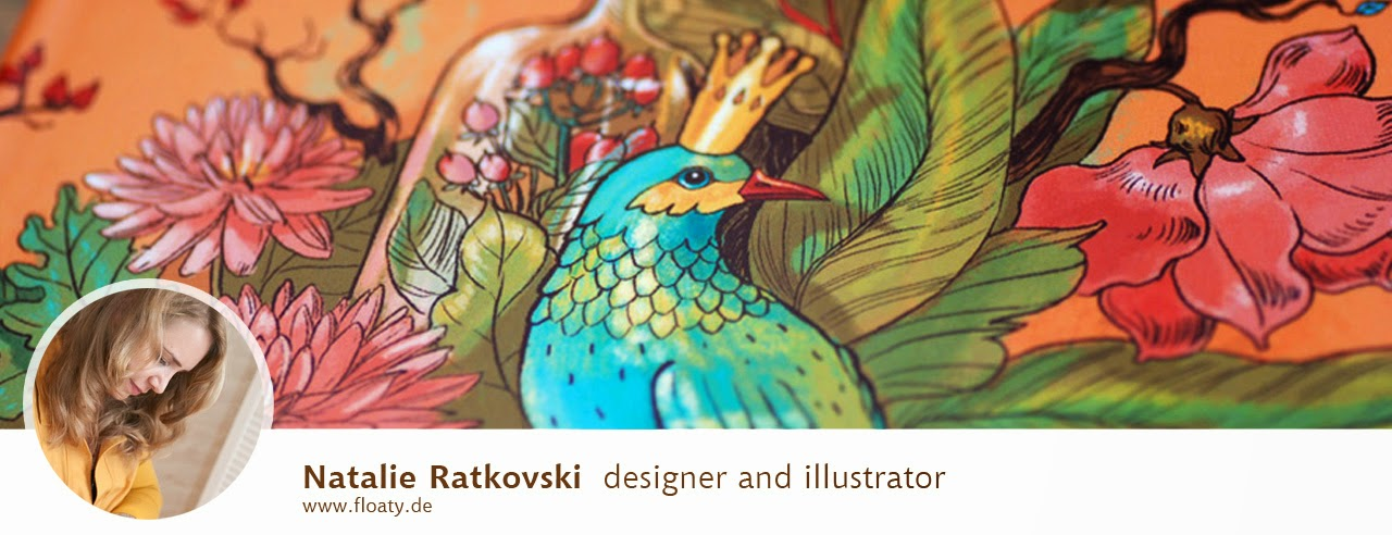 Natalie Ratkovski: illustration and design