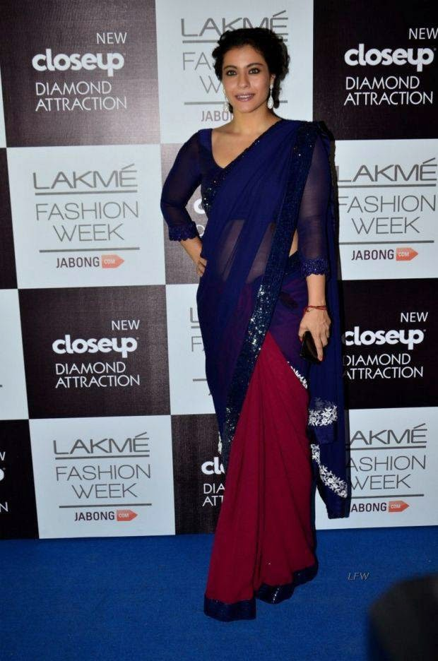 Kajol At Lakme Grand Finale 2014