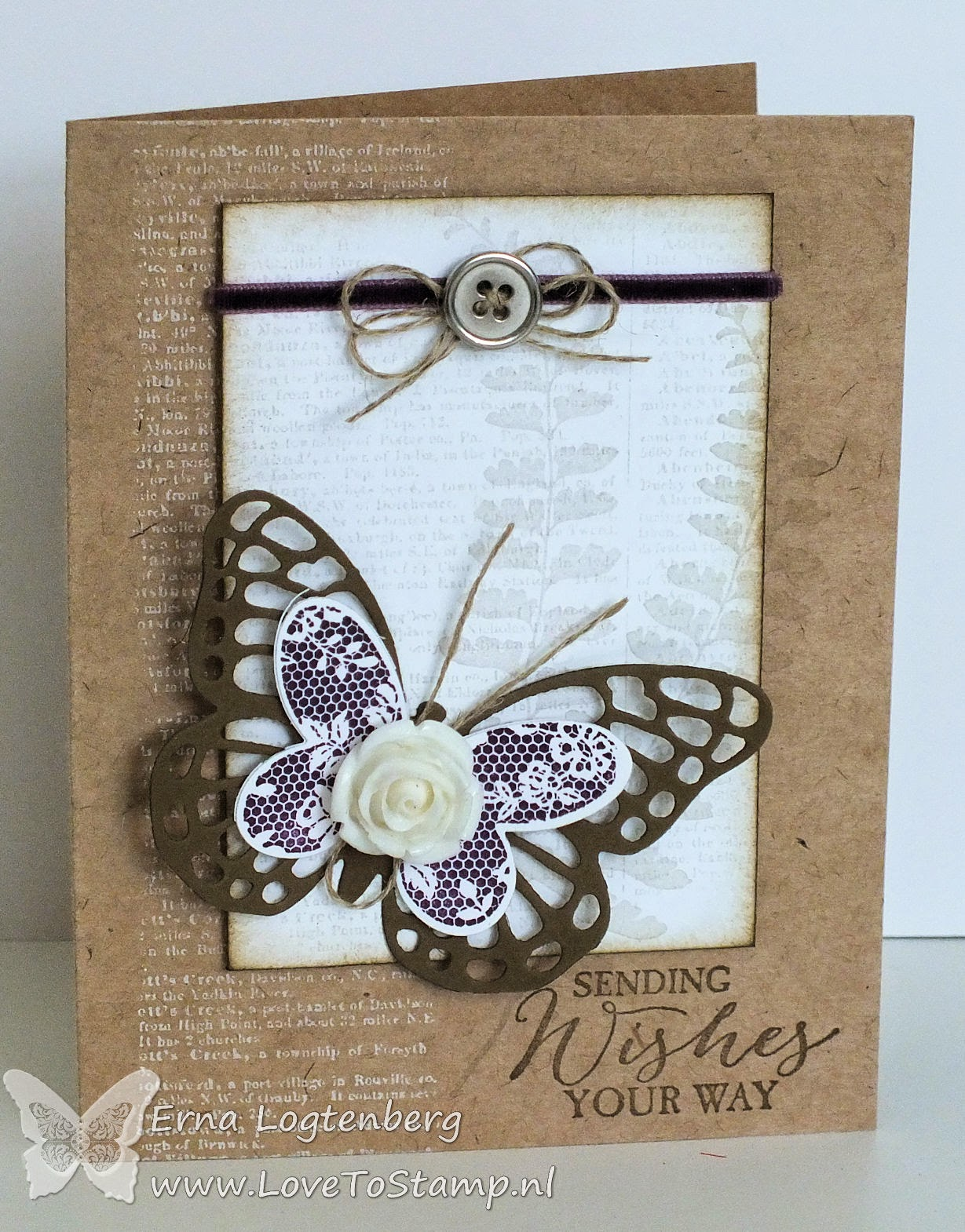 butterfly basics stampinup Stampin'Up! lovetostamp dictionary