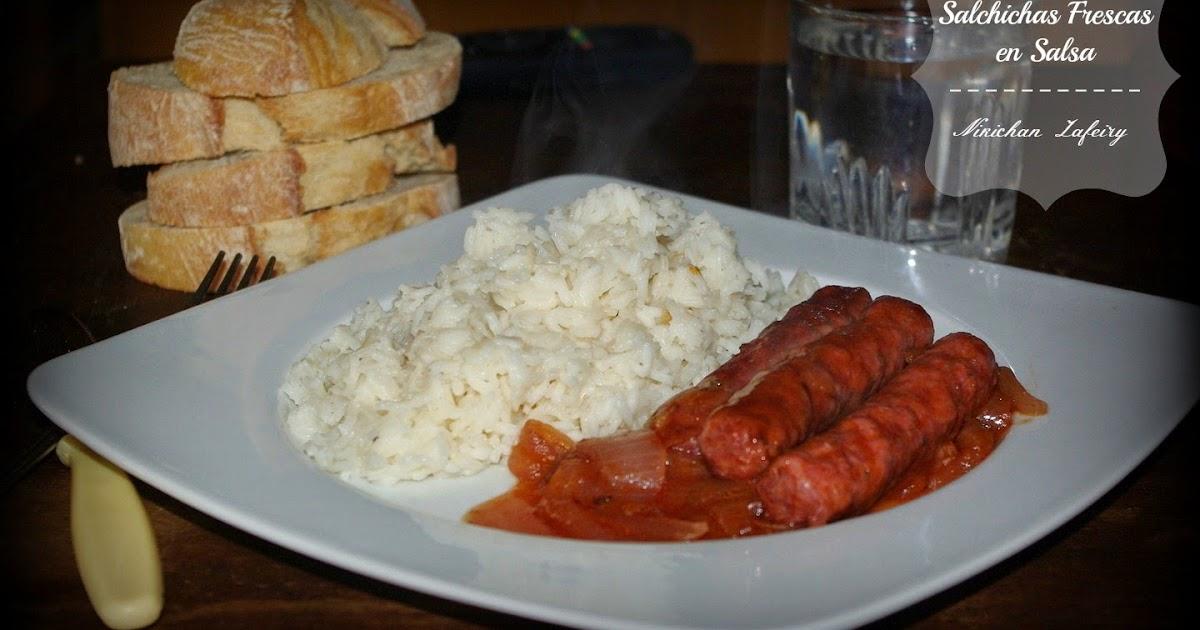 Salchichas frescas en salsa recetas de una gatita enamorada - Salchichas frescas en salsa ...