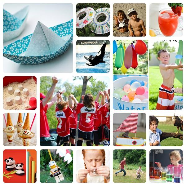 20 ideas geniales para este verano educaci n preescolar - Ideas fotos ninos ...