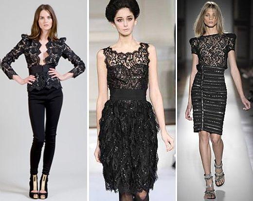 vestidos com renda
