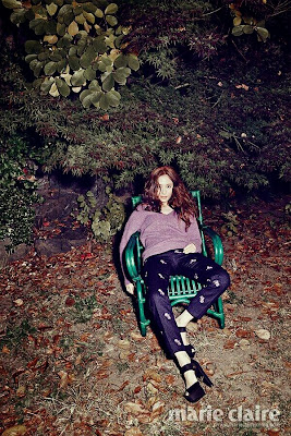 Krystal Jung f(x) Marie Claire December 2013