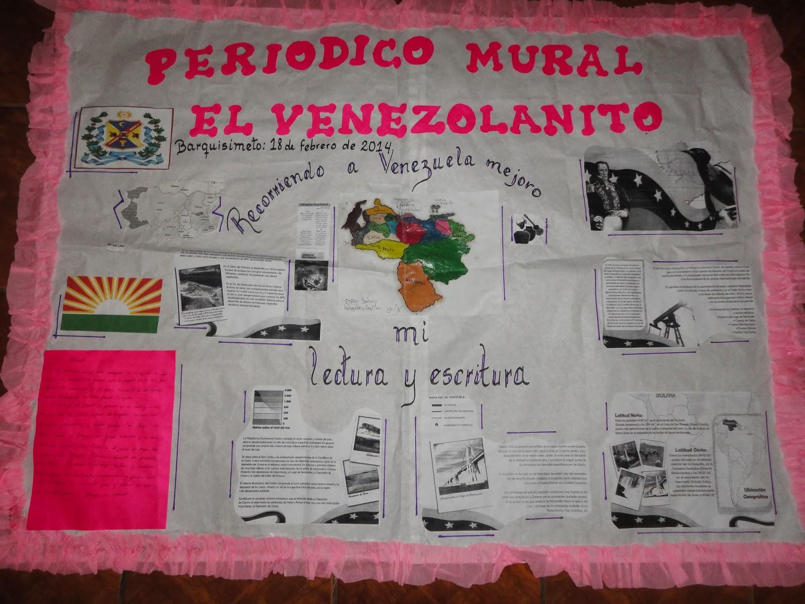 Escuela primaria bolivariana de media jornada venezuela for Deportes para el periodico mural