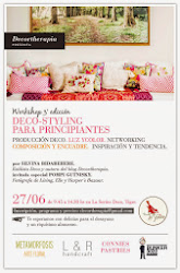 WORKSHOP DECO SYLING PARA PRINCIPIANTES