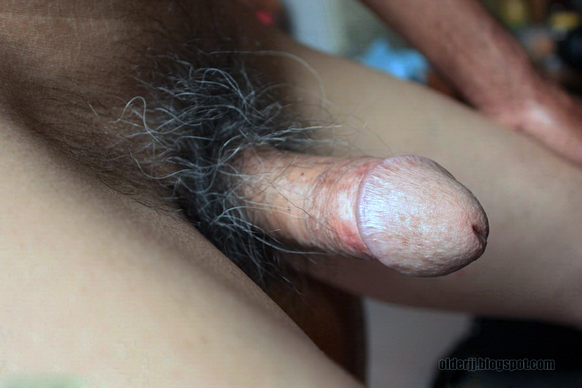 Old guys nude penis