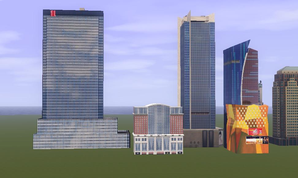 My Sims 3 Blog Skyscrapers Vol 2 By Monsoon Creations