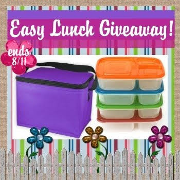 bento lunch box, EasyLunchBoxes, Giveaway, waste free lunches