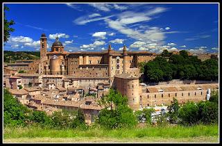 Palazzo Ducale, rampa elicoidale e Scuderia, Urbino