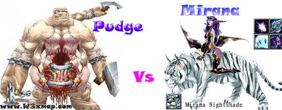 descargar mirana vs pudge