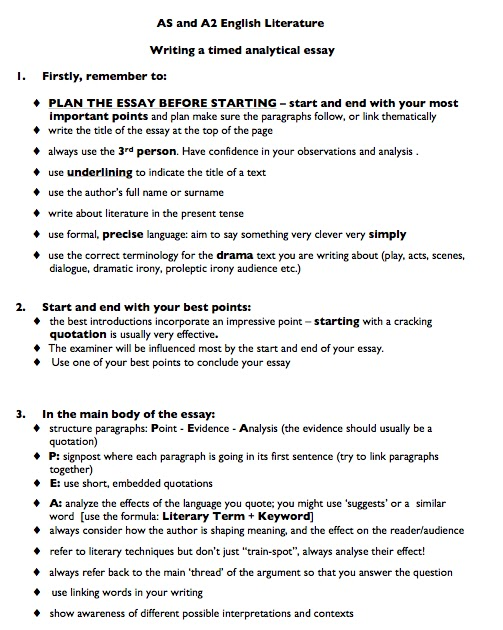 paragraph writing tips