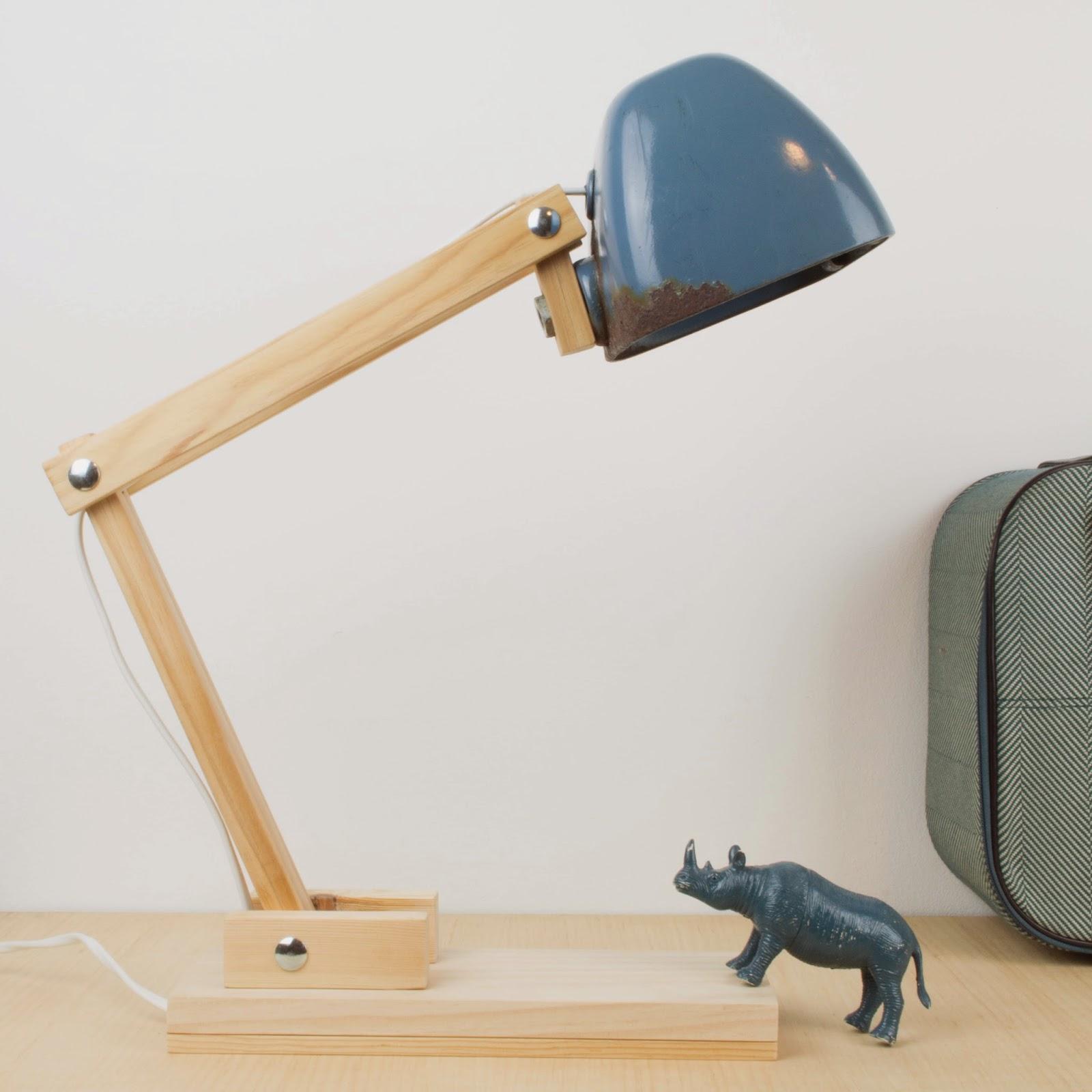 Antic chic decoraci n vintage y eco chic diy c mo - Como hacer una lampara de pared ...
