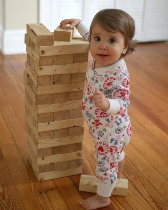 how to make big jenga blocks