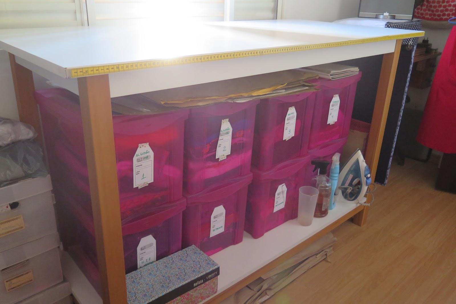 Costura katia costura meu ateli mesa de corte e - Mesas para costura ...