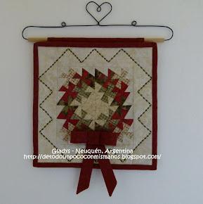 (19) 08/11: Corona de Navidad