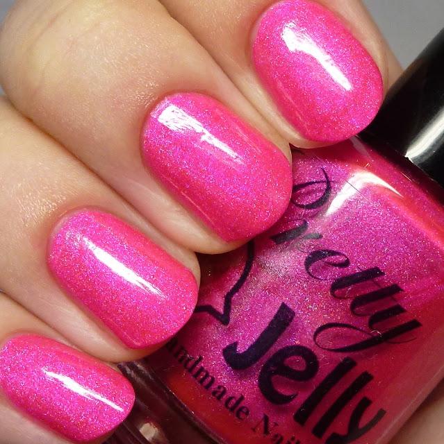 Pretty Jelly Nail Polish Book Fair