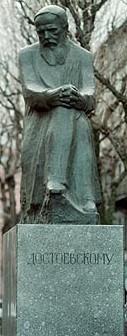 Escultura de Fiodor Dostoievski (Fedor Dostoievsk)