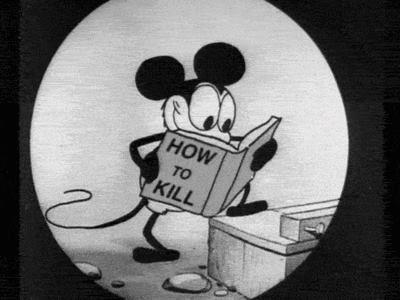 мультик, микки маус, как убить