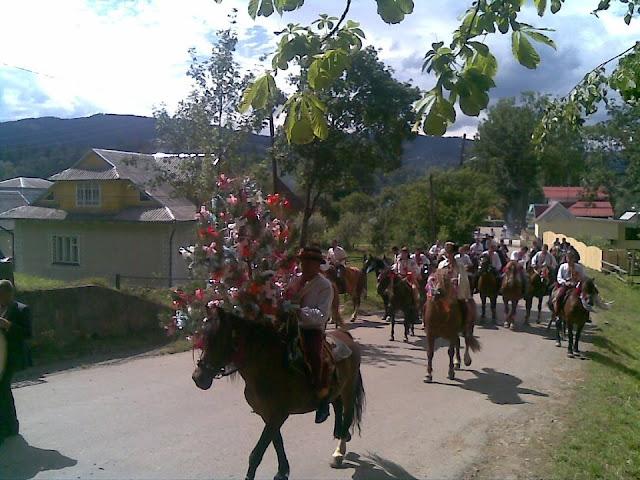 Весілля у Космачі, Івано-Франківська область, Україна