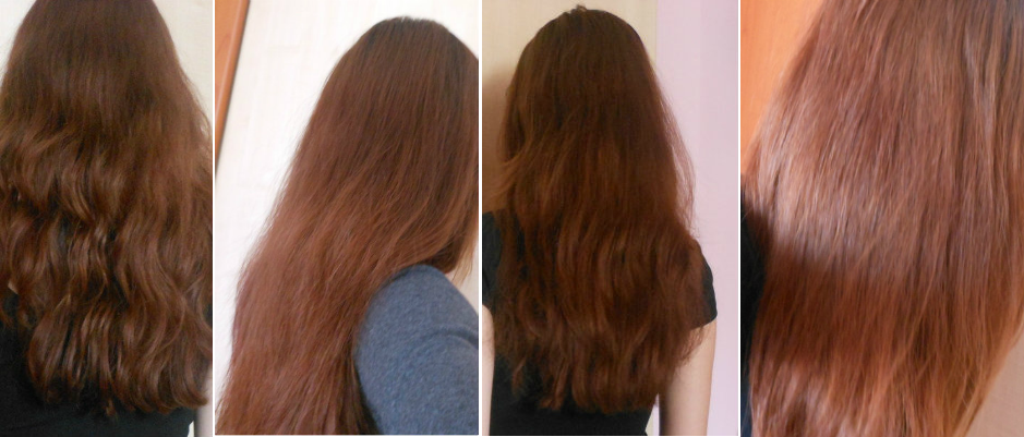 Lighten Hair with Cinnamon Before and After